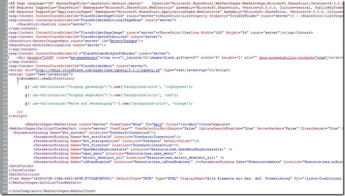 Benutzerdefinierte Formatierung_SP2013