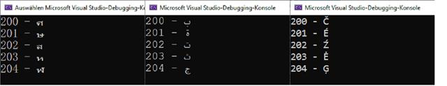 CPlusPlus_Zeichenfolgen_Codepage