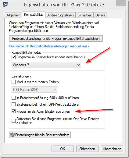 Eigenschaften von FRITZ!fax_3.07.04.exe