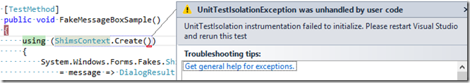 fakesdebugging_unittestisolationexception