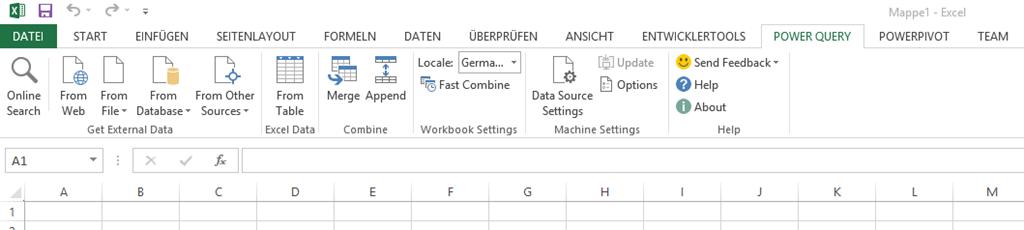 ppedv Team Blog   Excel Power Query und Power Map– neue BI ...