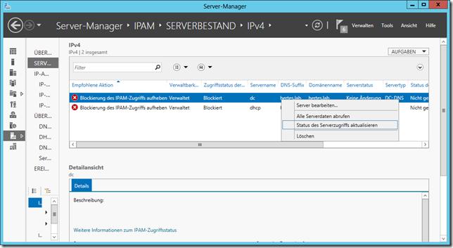 ipam-serverzugriff